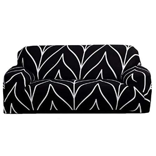 NFJ Sofa Couch Abdeckungen, All-Inclusive-sofabezug 1 2 3 4-sitzer-schonbezug Sofa Waschbar, Milben- Und Faltenabweisend Abnehmbar,A-1seater