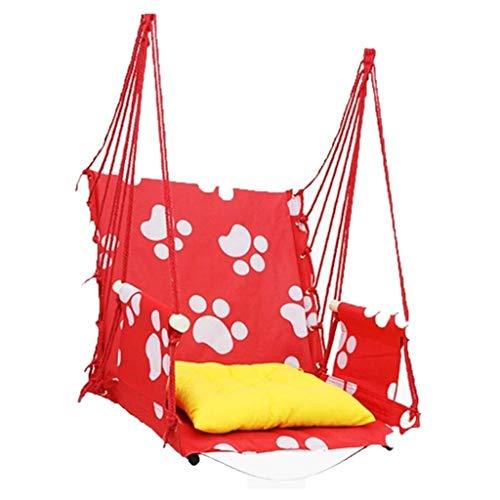 Hangmat Enkele Draagbare Canvas Swing Basket schommelstoel Vrije tijd Stoel Slaapkamer Outdoor Camping Slaapzaal Voor Volwassenen En Kind