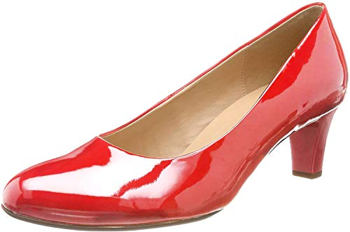 Gabor Shoes Damen Basic Pumps, Rot (Red (+Absatz) 95), 38 EU