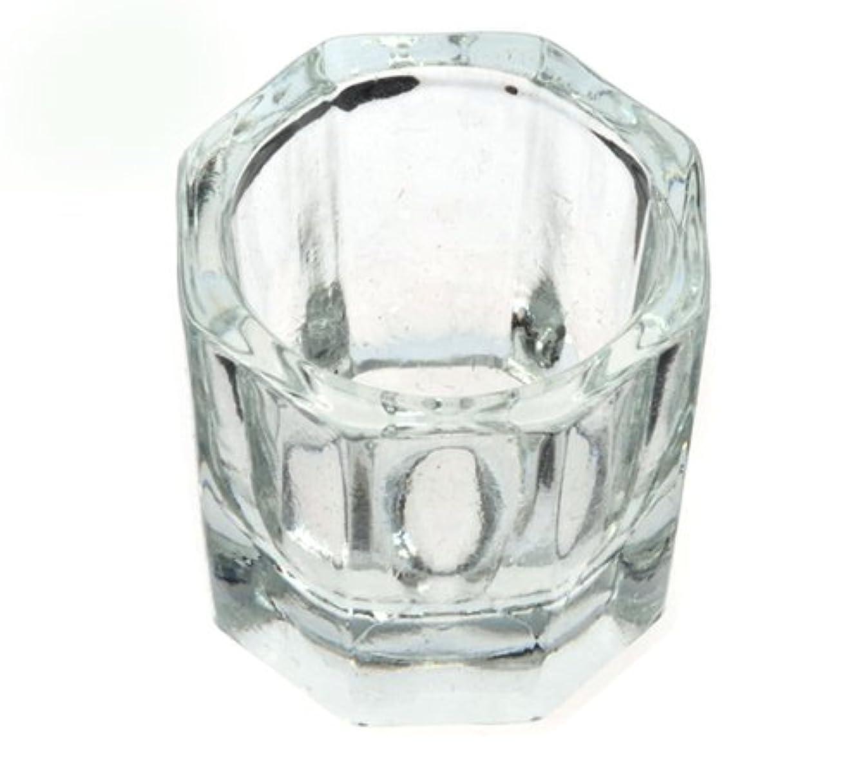 組立鯨レンズダッペンディッシュ グラスディッシュ 筆洗い ガラス容器 ジェルネイル用筆洗浄