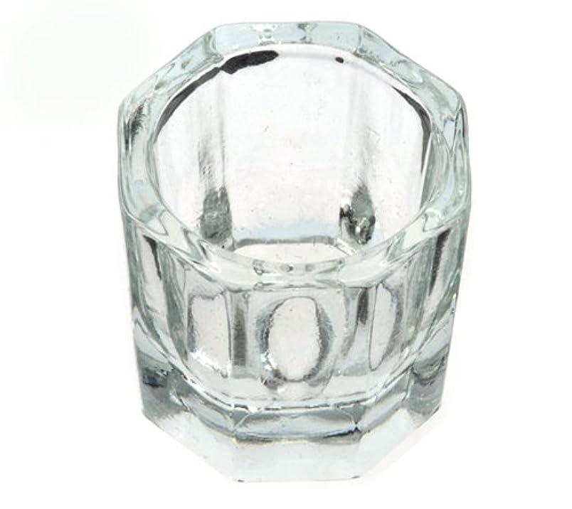 ニコチン模索寸前ダッペンディッシュ グラスディッシュ 筆洗い ガラス容器 ジェルネイル用筆洗浄
