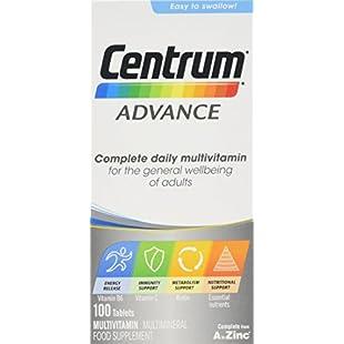 Centrum Advance Multivitamin Tablets, Pack of 100:Canliiddaa
