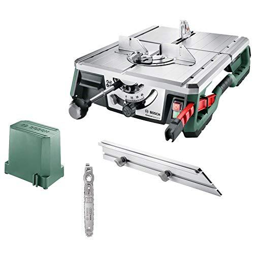 Bosch NanoBlade Tischsäge AdvancedTableCut 52 (550 Watt, NanoBlade-Technologie, in Karton) + Sägeblatt NanoBlade (für Holz du synthetische Materialien)