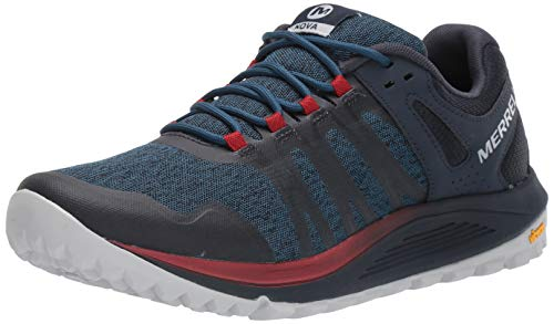 Merrell Nova, Zapatillas de Running para Asfalto Hombre, Azul (Sailor), 43 EU