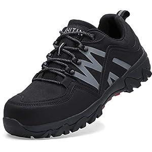 41gEJpEFVrL. SS300  - WHITIN Zapatos de Seguridad Hombres Zapatillas de Trabajo con Punta de Acero Reflectivo Transpirable