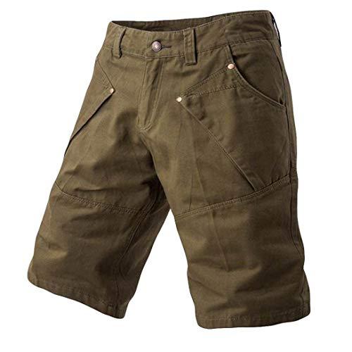 para Verano Gris Sigma Pantalones de Trabajo Cortos//Bermudas para Hombre