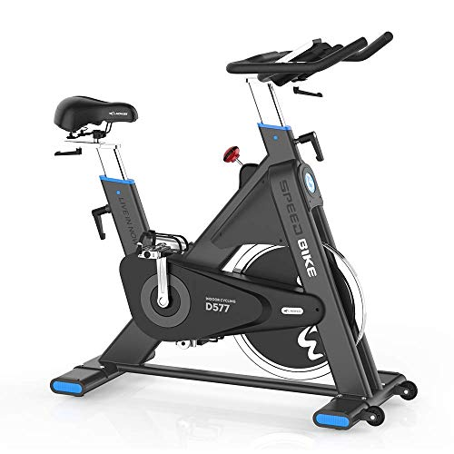 pooboo Pro Belt Drive Exercise Bike Stationary, Indoor Cycling Bike Trainer High Weight Capacity, Heavy Duty Flywheel with Commercial Standard by bike Exercise