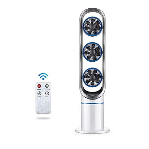 XPfj Climatizzatore Portatile Ventilatore a Torre oscillante con Telecomando, Silenzioso Permanente con balsamo della Ventola della Colonna del condizionatore Air 3 velocità per la casa e L'Ufficio