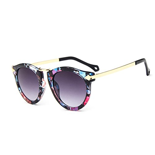 Skyeye Gafas de Sol Estilo diseñador Unisex Gafas Estilo Ojo de Gato Hombre y Mujer (Colorido)