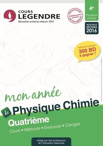 Physique-chimie 4e : Cours, méthodes, exercices, corrigés