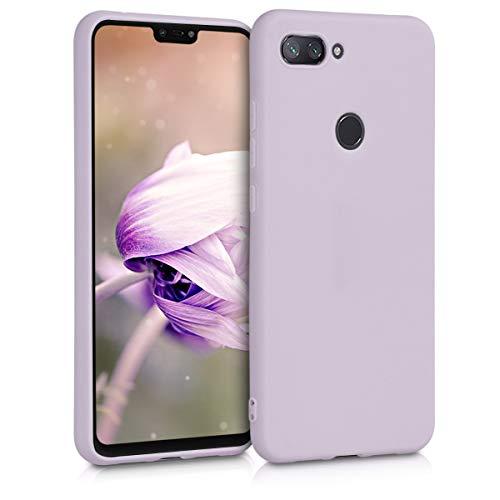 kwmobile Hülle kompatibel mit Xiaomi Mi 8 Lite - Hülle Handyhülle - Handy Hülle in Lavendel