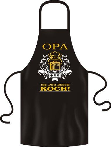 Grillschürze Original Rahmenlos ® Opa bester Koch