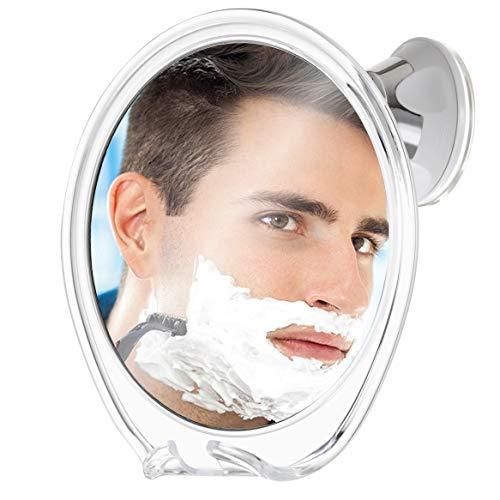Fogless Shower Mirror for Shaving with Razor Hook | Strong Suction Cup | True Fog Free, Anti-Fog Bathroom Mirror | 360 Degree Swivel, Shatterproof | Travel Friendly | No Fog or Falling Off