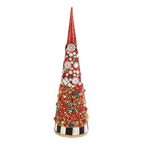 MacKenzie-Childs Park Avenue Christmas Tree Decoration, Holiday Collection, Medium