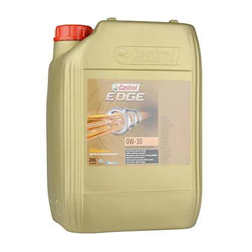Castrol Motoröl Motorenöl Motor Motoren Öl Motor Engine Oil 0W-30 Edge Titanium FST 20L 1533F6