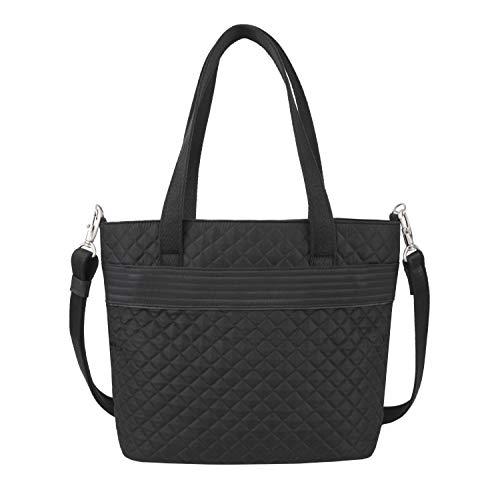 Travelon: Anti-Theft Boho Tote Bag - Black