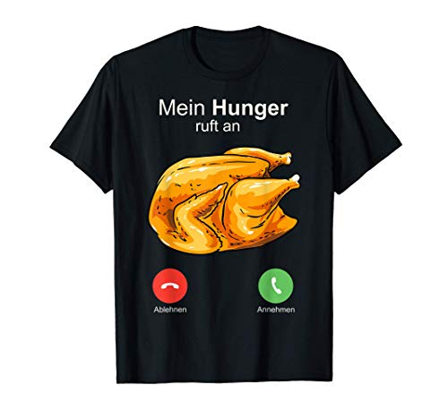 Broiler Brathuhn Grillhähnchen Hendl Hendel Gasgrill BBQ T-Shirt