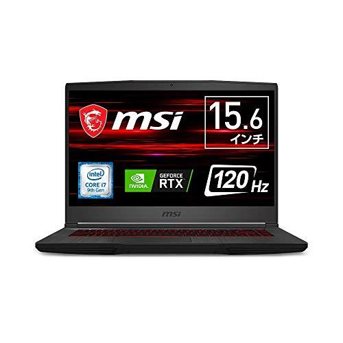 【2060搭載・薄型・軽量】MSIゲーミングノート GF65 1.86KG/Win10/i7/RTX2060/15.6FHD/120Hz/16GB/SSD512GB...