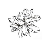 YANTING アルバムの装飾工芸を作る透明スタンプスケッチフラワークリアスタンプラバーシリコーンシールにManualスクラップブッキングカード (Color : 0820)