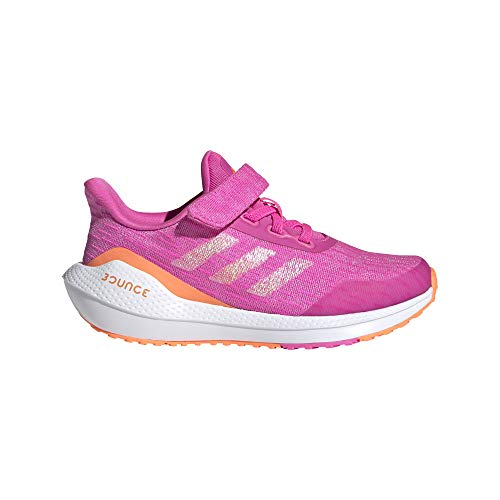 adidas EQ21 Run EL K, Zapatillas de Running Unisex Adulto, ROSCHI/NARCHI/FTWBLA, 39 1/3 EU