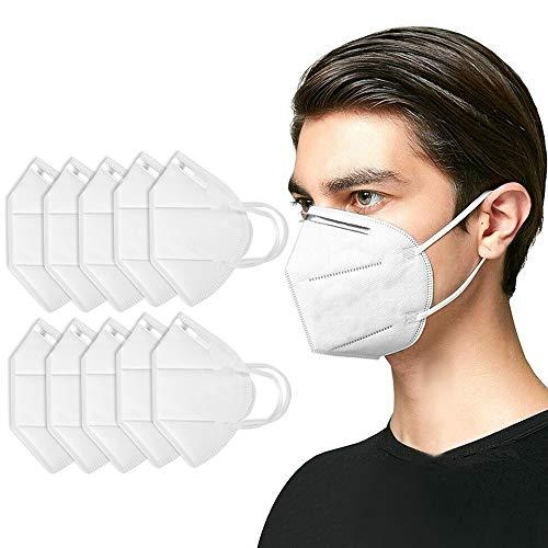 10 Stück Maske Gesichtsmasken für Erwachsene, schützende atmungsaktive Gesichtsabdeckungen Filtermaske Balaclavas Bandanas