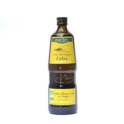 Aceite de colza virgen orgánico 1 L de aceite