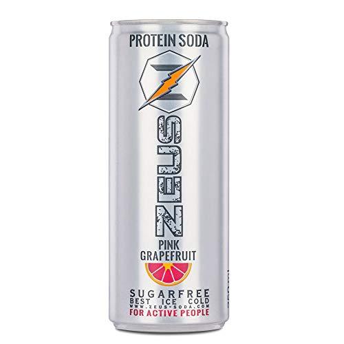 Zeus Protein Soda - Pink Grapefruit 24x250ml