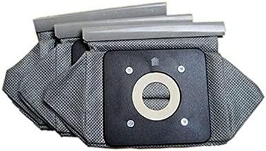 Cikuso Bolsa de Tela Universal Bolsas de aspiradora Reutilizables Adecuado para Philips Electrolux LG Haier Samsung etc 3 Piezas