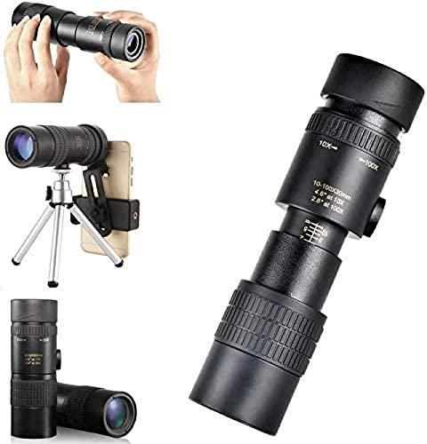 Monokular Teleskop Handy, HD-Hochleistungsteleskop, Für Den Außenbereich, Für Reisen, Vogelbeobachtung, Konzerte, Fußballspiele