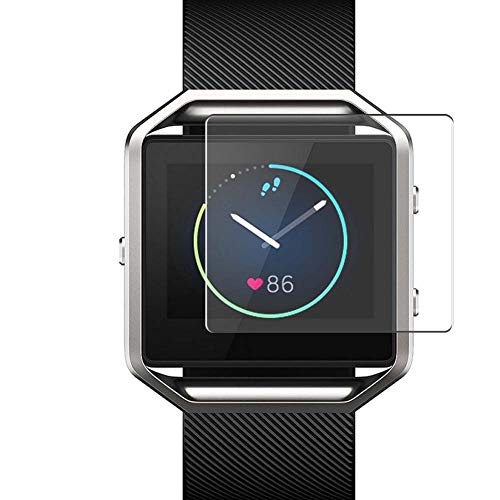Vaxson 4 Stück Schutzfolie, kompatibel mit Fitbit Blaze, Bildschirmschutzfolie TPU Folie Displayschutz [nicht Panzerglas Hülle Hülle ]