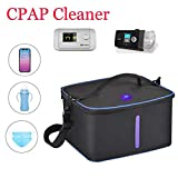 CPAP Cleaner Sanitizer, UV Sterilizer Bag Portable Travel,Kills 99.9% Ozone Free UV CPAP