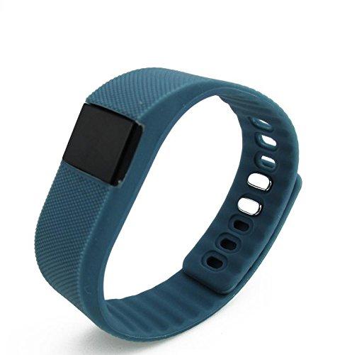Smartwatch Unisex armband met Bluetooth + stappenteller en calorieënteller, donkerblauw