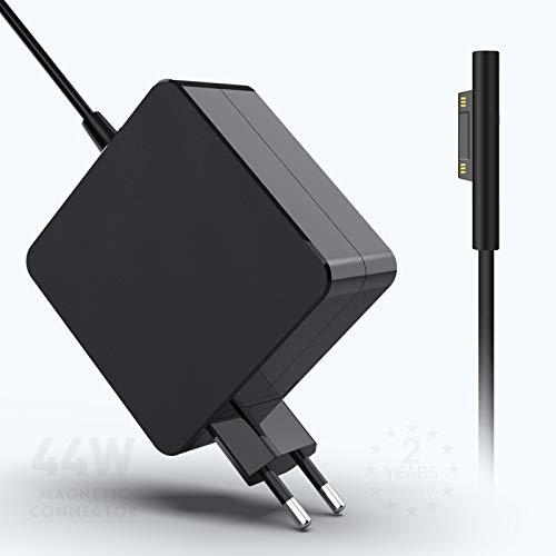Eletrand Chargeur Surface Pro 44W, Compatible avec 'Alimentation Surface Pro 6 Pro 5 Pro 4 GO, Compatible pour Les Ordinateurs Portables/tablettes Microsoft Surface, Fonctionne avec 44W & 36W & 24W