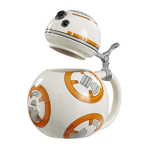 Star Wars Steins: Firma: BB8, Ceramica, Bianco, 15 x 9 x 22.86 cm