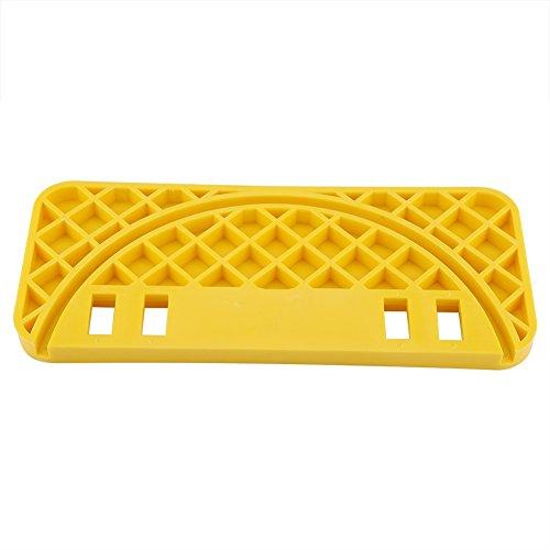 Herramienta raspadora de colmena, plástico ABS, balde para miel, estante para marco de nido, tipo miel, guardián de abejas, amarillo para marco para balde de miel