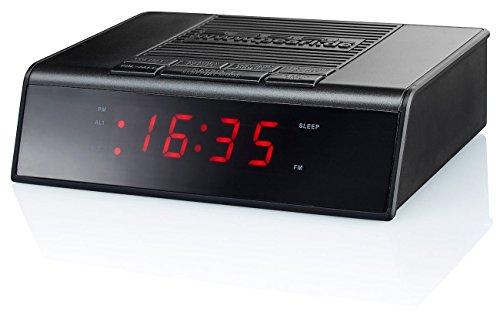 PEARL UKW-Radiowecker mit 2 Weckzeiten