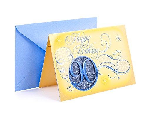 Hallmark Ninetieth Birthday Card - 2 Styles