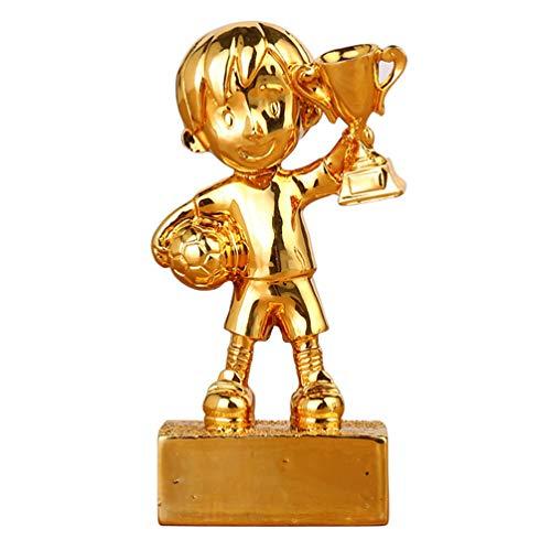 BESPORTBLE Liga de Fútbol Campeón Ganador del Trofeo Premio Fútbol Fútbol Premios Premios Trofeos Estatuas con Base Fútbol Fiesta Deportiva Favor Regalos