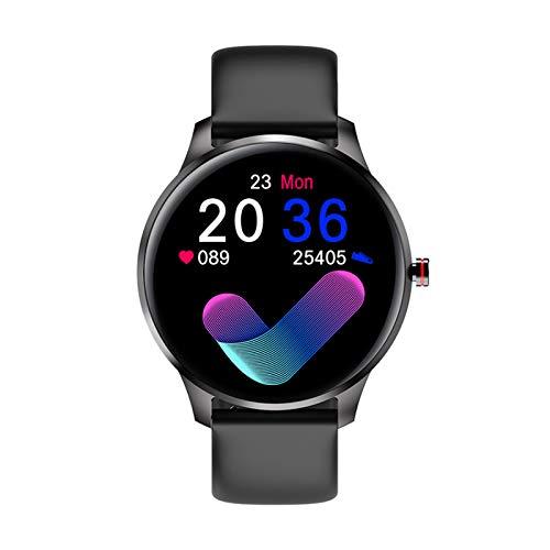 RAPG Reloj Inteligente Monitor de Ritmo Cardíaco/Presión Arterial Lw29 Rastreador de Fitness Ip68 Resistente Al Agua para Hombres Y Mujeres Pulsera Inteligente con Seguimiento de
