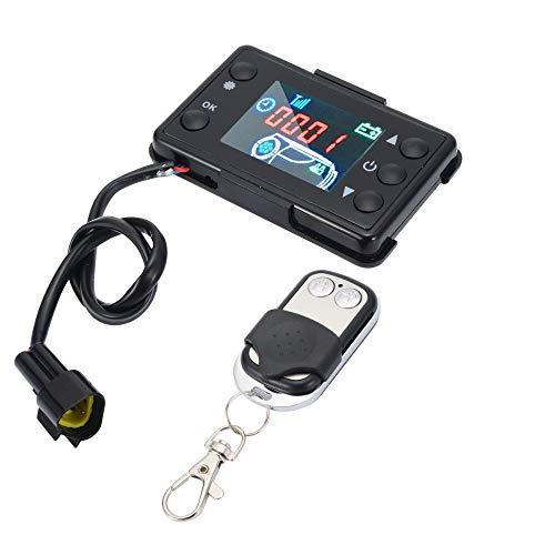 Sunwan 12 V Auto Heizung LCD Schalter Controller mit 4 Tasten Fernbedienung für Auto Diesel Luftheizung Parkheizung