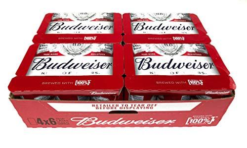 Budweiser Amerikanisches Bier (Pack 24 Dosen x 330ml) | VERKAUFT VON AMZ_store | bier geschenk, biere der welt, bier set, budweiser bier, geschenk set, geschenke für männer