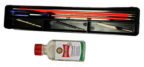 Waffen Putzzeug für Luftgewehre und Luftpistolen im Kaliber 4,5mm incl. 50 ml Ballistol Oel