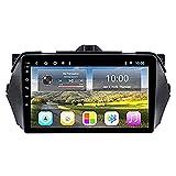 WYZXR GPS Navegación GPS Estéreo para automóvil para Suzuki Alivio/Ciaz 2014-2018 Unidad Principal Navegación por satélite Reproductor de música Multimedia por Internet Navegación por Internet