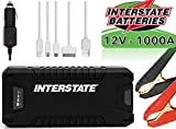Interstate Batteries Charge and Go 12V Lithium Portable Jump Starter and Battery...
