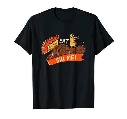 Turquía Eat Siu Mei - Plato para barbacoa de Acción de Gracias Black Friday Camiseta