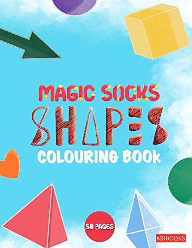 Magic Socks Colouring Book: Shapes & Sweets