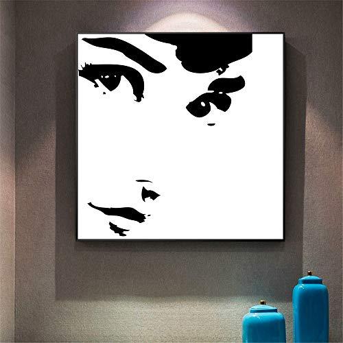 Geen frame Canvas zwart-wit muur kunst poster en prints slaapkamer muur foto's