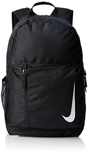Nike Academy Team, Zaino Unisex adulto, Nero Black/White, 15x24x45 centimeters (W x H x L)