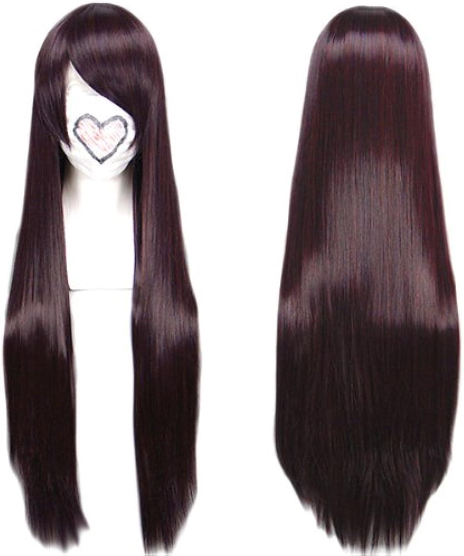 Cosplay wig dark brown 80cm (japan import)