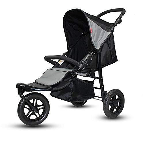 ZhiGe Poussette pour bebe Tricycle tout terrain kids voitures haute-vue poussette chariot